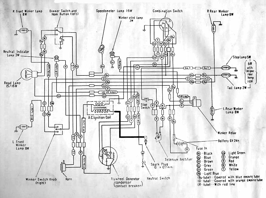 Honda C70 Wiring Circuit And Diagram Hub 1983 Diagrams Diy Enthusiasts Pport Auto Harness