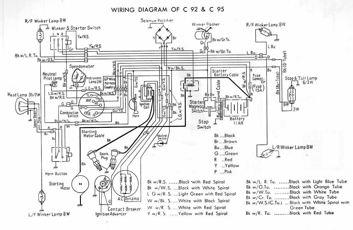 C92 index of mc wiringdiagrams honda c100 wiring diagram at gsmx.co