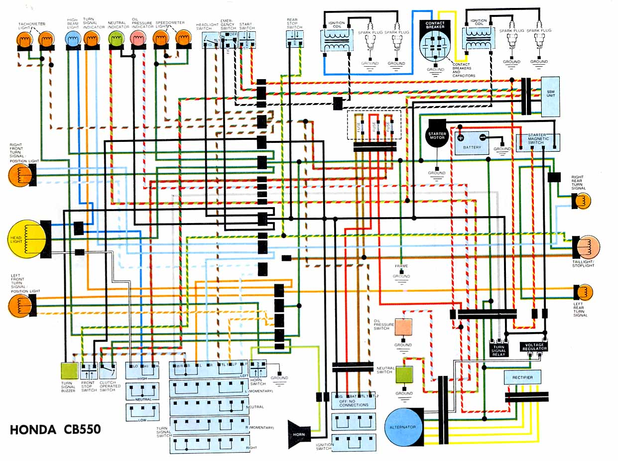 76 cb550 wiring diagram?SOHC/4 Owners Club Forums