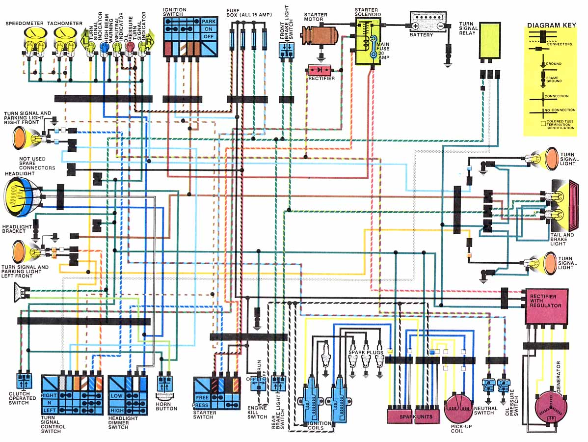 honda cx500 wiring diagram color suzuki gs450 wiring