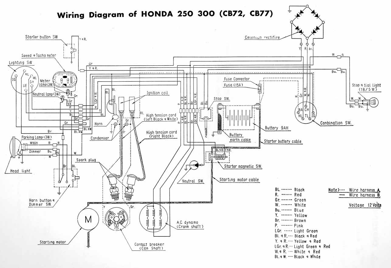 WRG-8538] Chinese Mini Harley Wiring Diagrams on