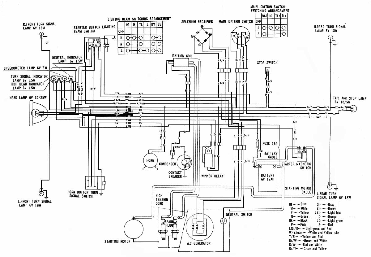 cb400a wire diagram cb400a automotive wiring diagrams description cd175 cb a wire diagram