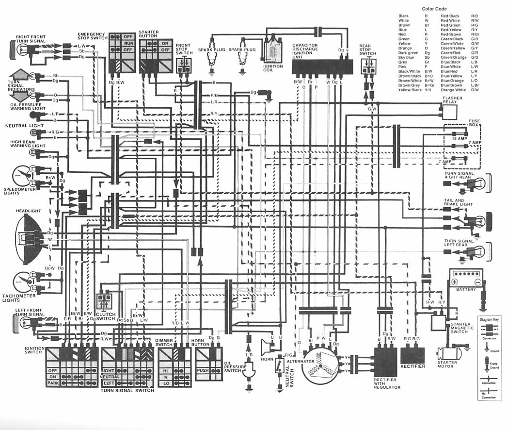 1981 honda cm400 wiring diagram have a 1981 honda cm400e. the headlamp on it is, i know ... #1