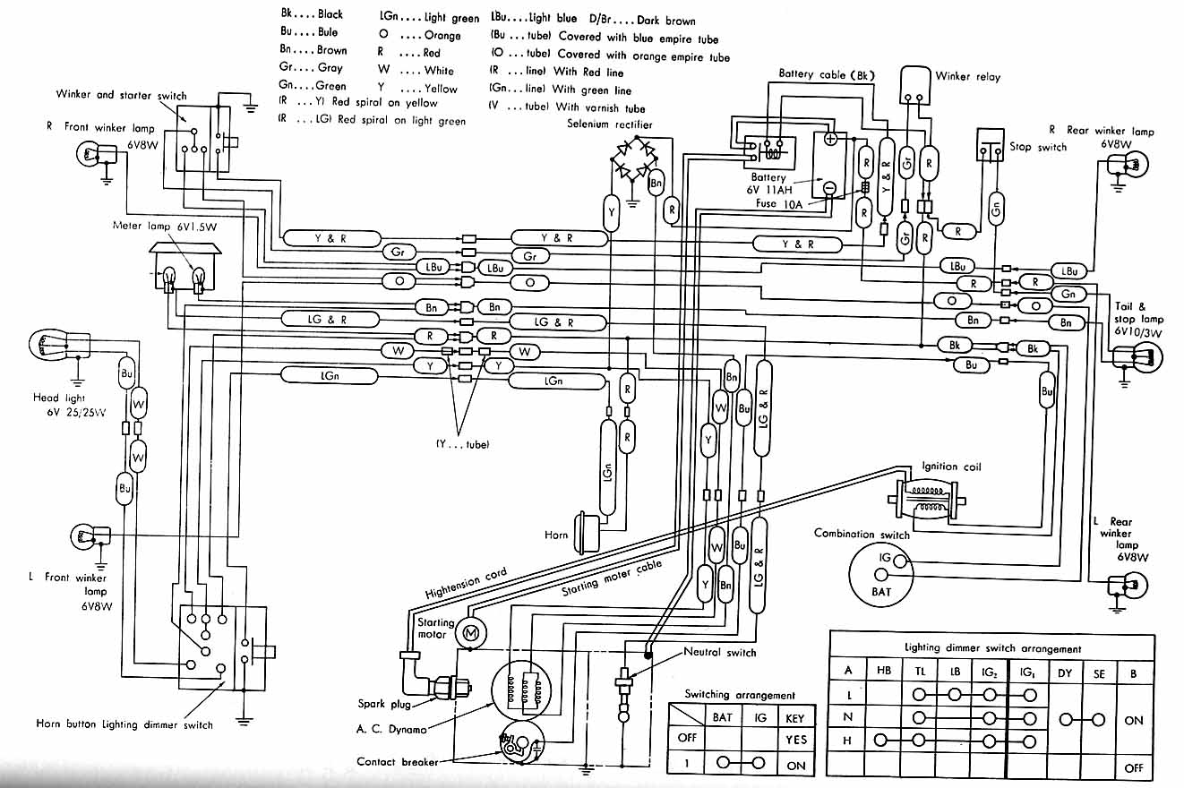 Wiring Diagram for olympian Part Number 10000 48488